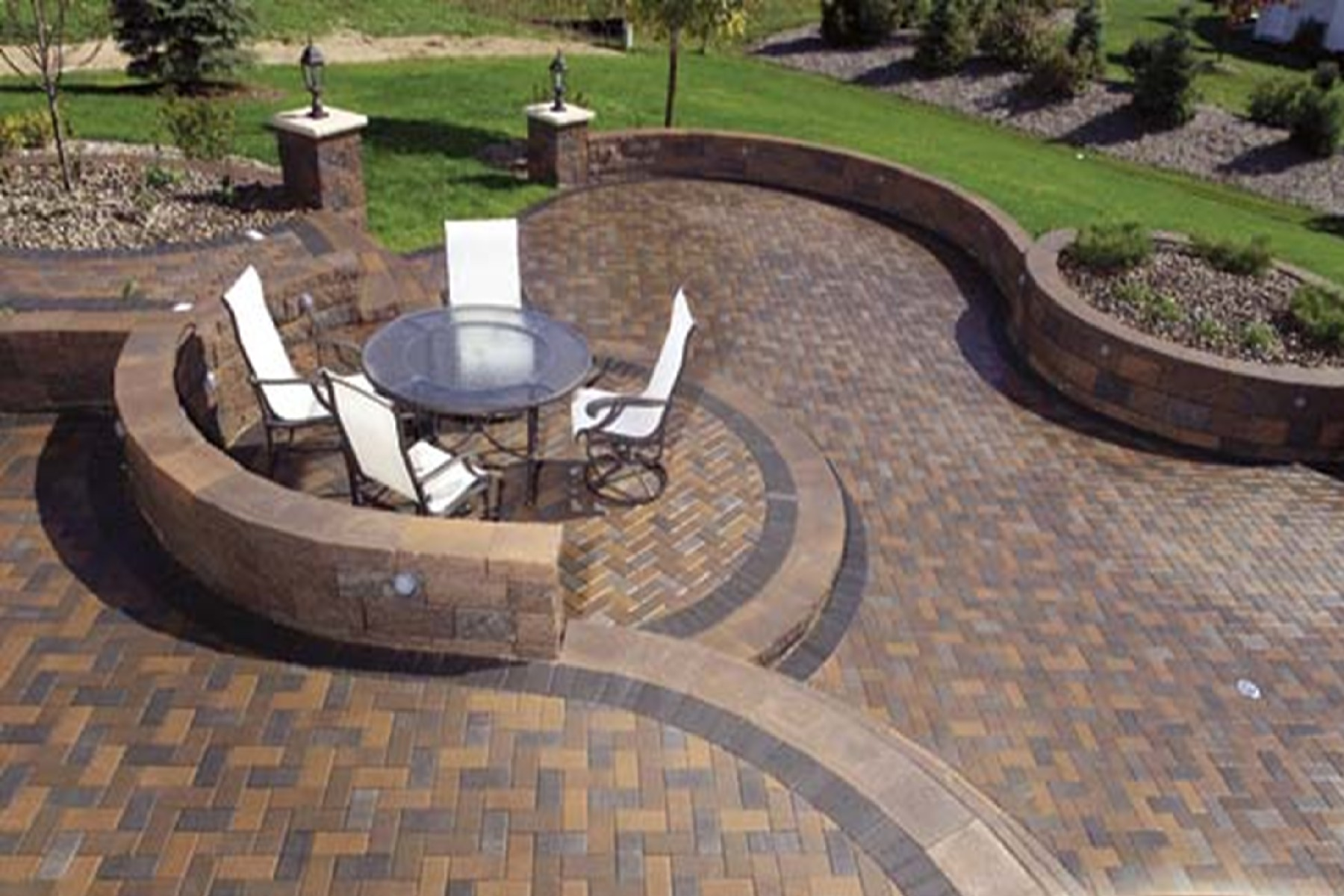 Parkside pavers tampa st pete clearwater paver designs Paver patio ideas