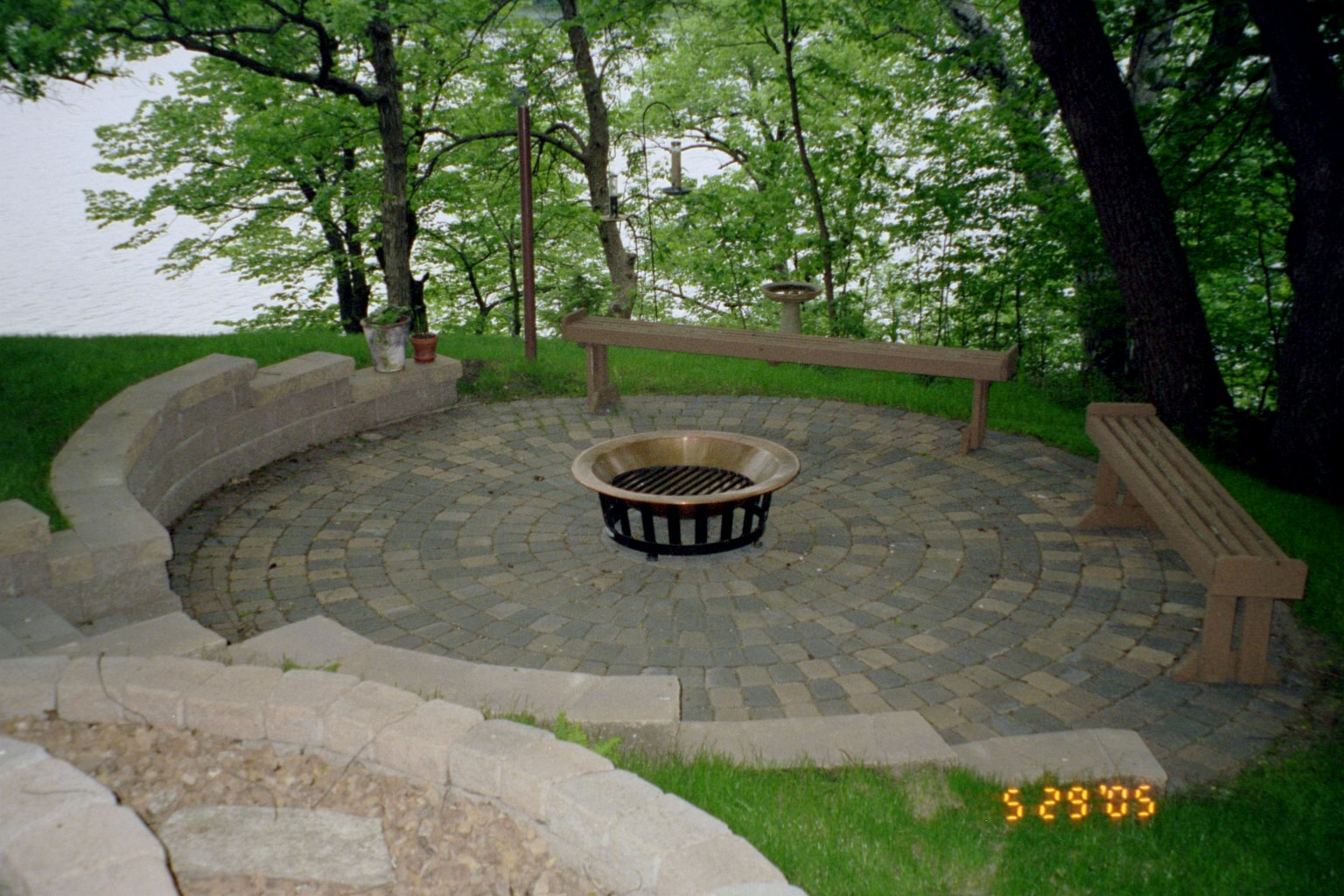 patio design drainage